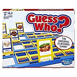 It's the Guess Who? game – the original guessing game! This Guess Who? game goes back to the tabletop style boards, styled after the original, rather than handheld boards. Each player chooses a mystery character and then using yes or no questions, th...