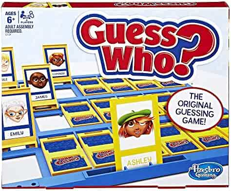 Hasbro C2124 Guess Who? Classic Game, N/A