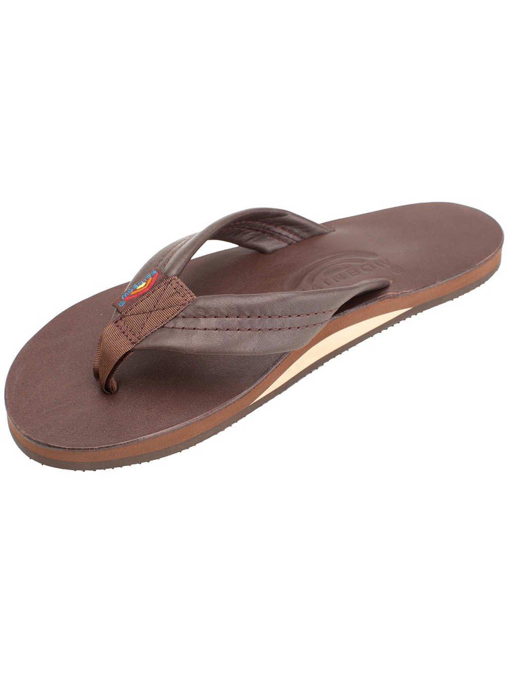 a04e38a7a74b Galleon - Rainbow Sandals Men s Premier Leather Single Layer