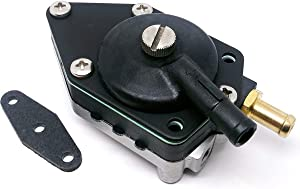 Amhousejoy Outboard Fuel Pump with Gasket for Johnson/Evinrude 20-140HP 48/90/115/HP 438556 18-7352