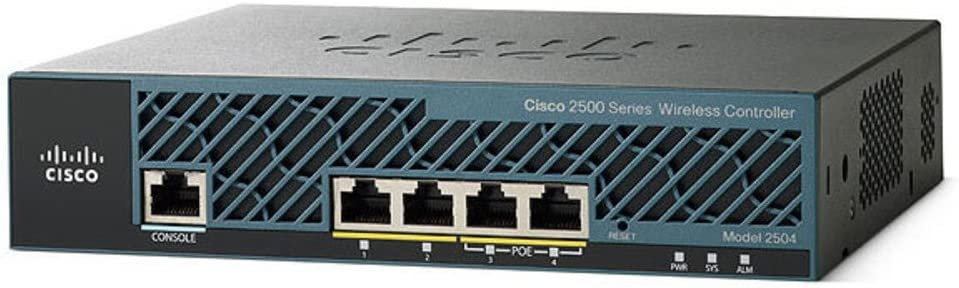 Cisco 2504 AIR-CT2504-25-K9 25 Access Points Wireless LAN Controller