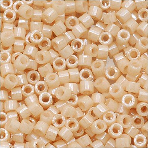 Miyuki Delica Seed Beads 11/0 Ceylon Light Beige DB204 7.2 -