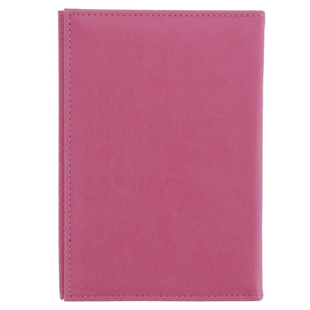 Portable pliable lisse /étui passeport Couverture Protection en cuir PU Support carte pour bo/îte Couverture PVC Protection B4 bleu