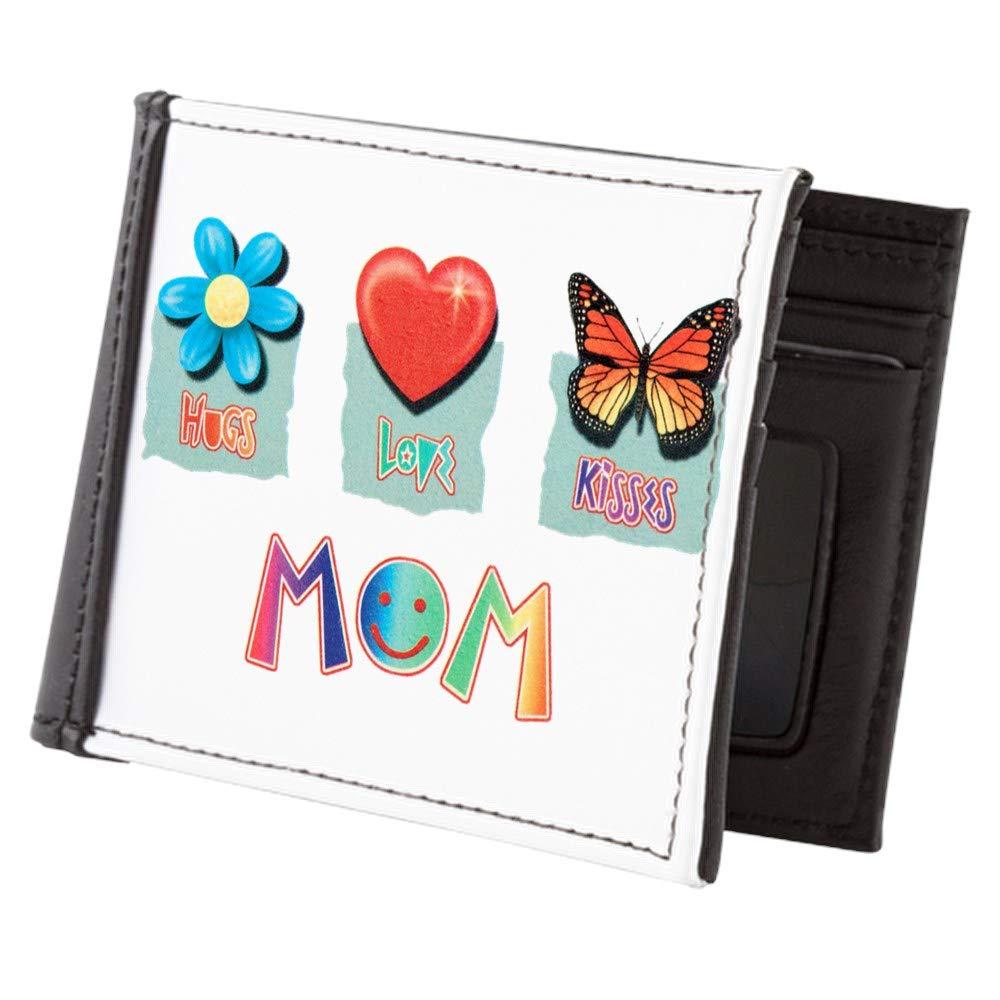 Royal Lion Mens Wallet Billfold Mom Hugs Flower Love Heart