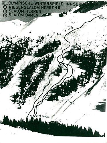 Vintage photo of OS:Innsbruck 1976 Winter Games