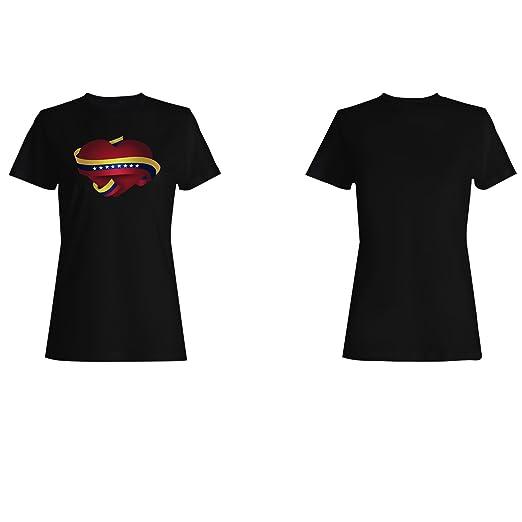 Nueva Venezuela Oro Cinta camiseta de las mujeres l278f: Amazon.es: Ropa y accesorios