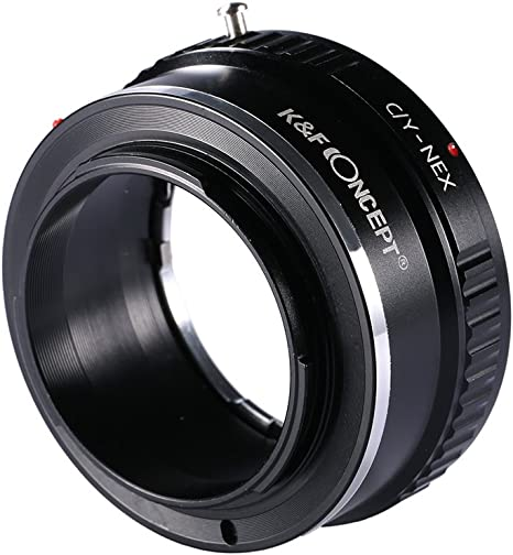 Gadget Place Contax G Lens Adapter for Sony Alpha a6500 a6300 a5100 7R II 7S II