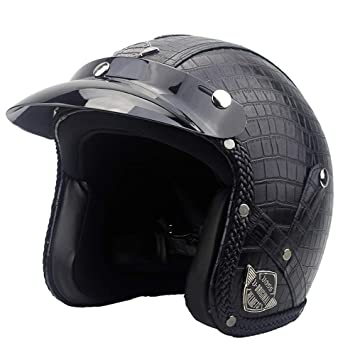 LLCP Casco Retro, Casco Harley Four Seasons, Casco De Motor De Moto, Cascos