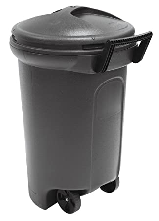 Amazoncom United Solutions Tb0042 Critter Proof Wheeled Garbage