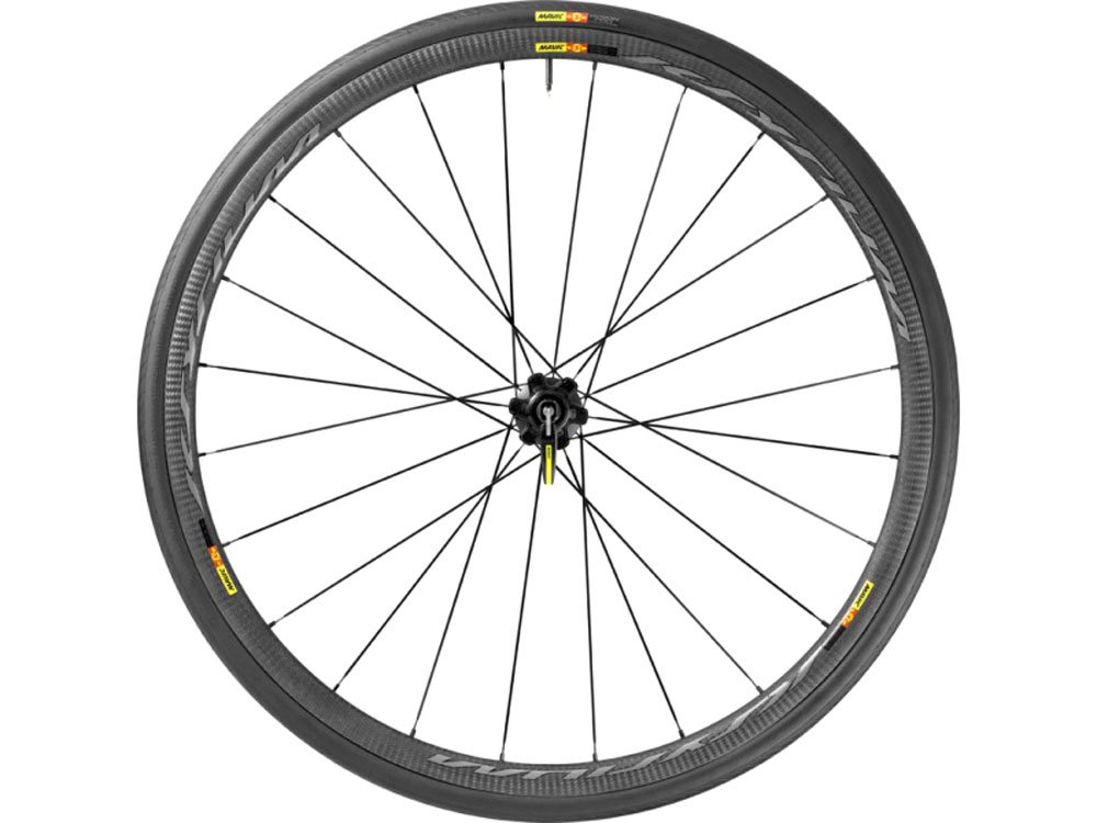 Mavic Ksyrium Pro Carbon SlC 700x25c Clincher Wts Rear Wheel Black