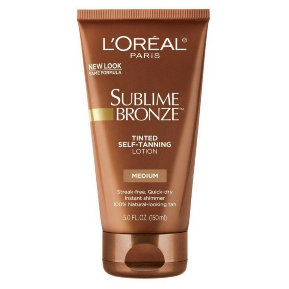 L'Oreal SUBLIME BRONZE Tinted Self-Tanning Lotion Medium Natural Tan 5 oz by L'Oreal Paris
