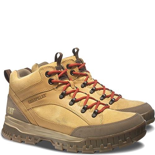 Caterpillar Evolve - Botas de Piel para Hombre, Marrón (Honey Reset), 14 2E US: Amazon.es: Zapatos y complementos