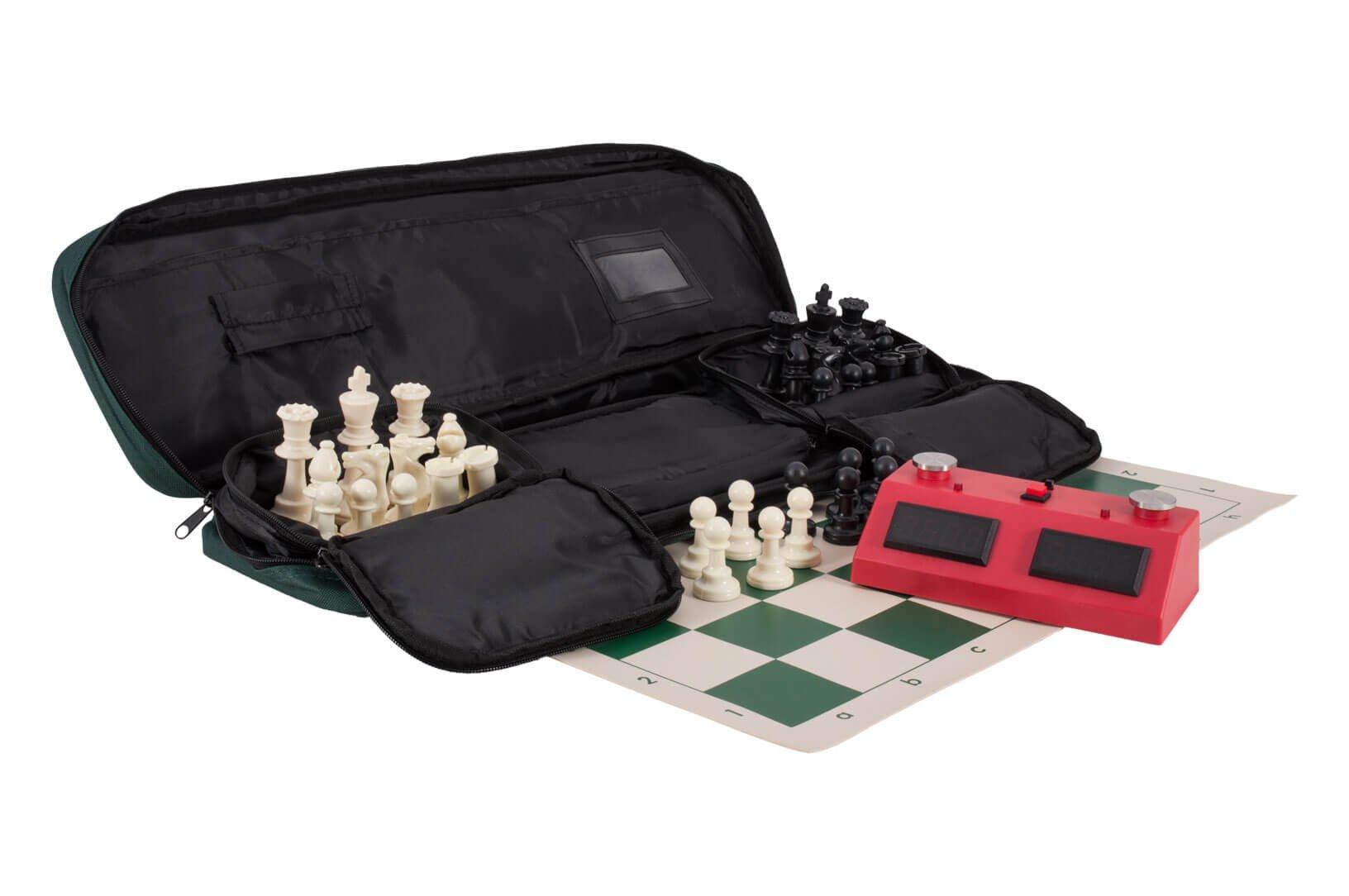 The House of Staunton Deluxe Zmart Fun II Chess Set Combination