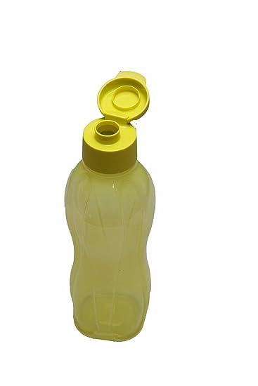 1a Tupper Trinkflasche EcoEasy Flip Top Flasche 750ml grün-gelb ...