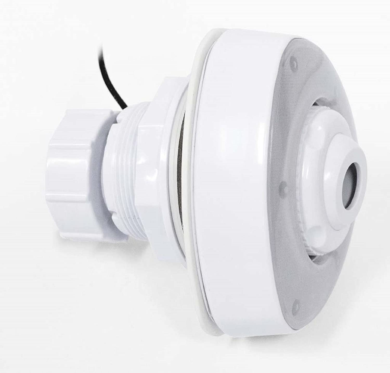 Boquilla de impulsión con iluminación LED Boquilla de entrada Para Acero Pared Platillos Piscina Pool luz