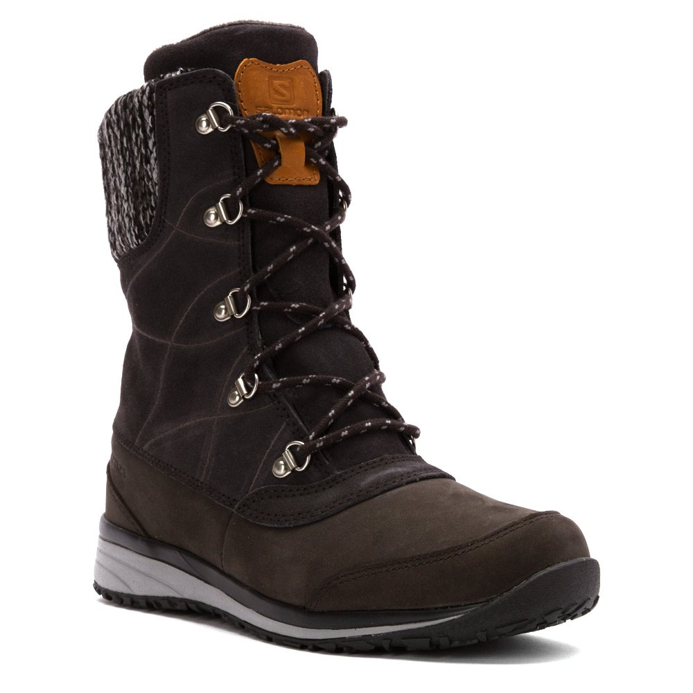 Salomon Women's Hime Mid Leather CSWP Winter Wear US|Asphalt Shoe B00PTWMZXY 5 B(M) US|Asphalt Wear / Ashpalt / Pewter 80d324