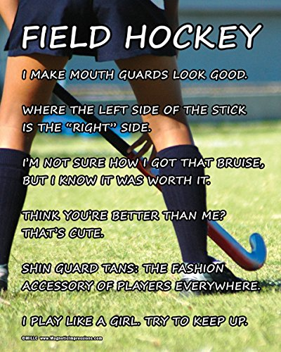 Posters and Prints by Magnetic Impressions Unframed Field Hockey Player 8