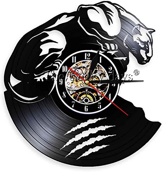 CHANGWW 1 Unidades Wild Beast Predator Panther Reloj de Pared ...