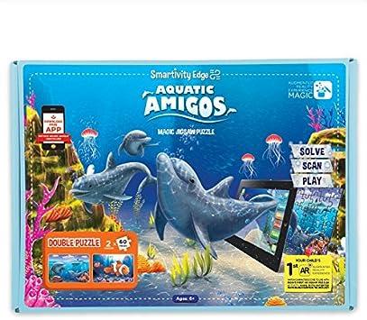 Smartivity Edge Aquatic Amigos Augmented Reality Jigsaw Puzzle