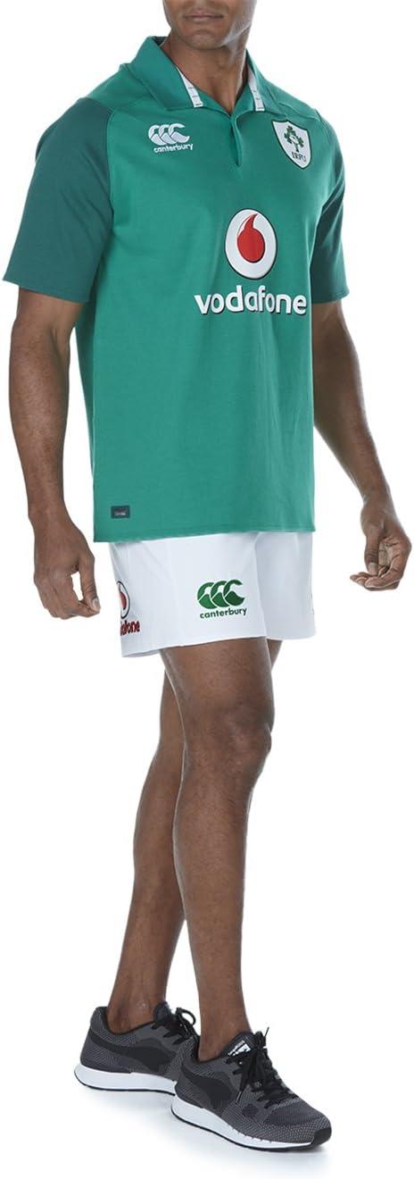 Maillot de Rugby Officiel Irlande 17//18/Classique /à Manches Courtes pour Hommes Canterbury