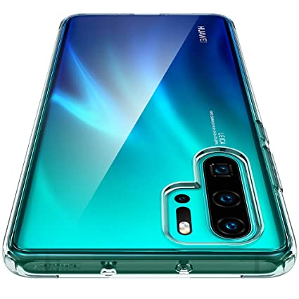 Spigen Ultra Hybrid Designed for Huawei P30 Pro Case (2019) - Crystal Clear