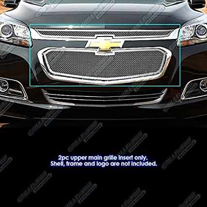 APS Compatible with 2014-2015 Chevy Malibu Upper and Lower Billet Grille Combo S18-A65316C
