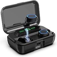 Aclouddates Bluetooth-Kopfhörer, TWS Stereo-Sound, CVC8.0, 135 Stunden Spielzeit, LED-Display, kabellose Kopfhörer mit...