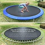 TRIPLETREE Trampoline with Safe Enclosure Net