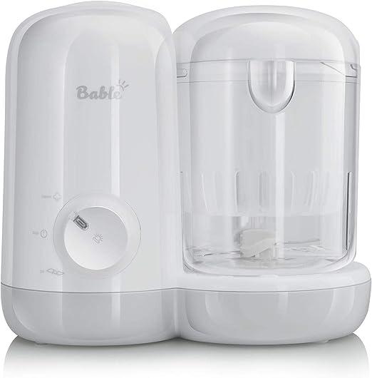 Bable - Cocina al vapor para bebés, 2 en 1 y batidora para alimentos de bebé con mezcla de cocción al vapor: Amazon.es: Hogar