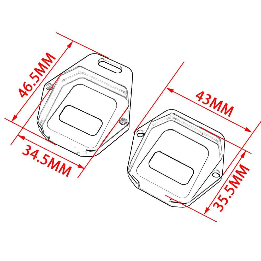 YSMOTO Coque de Protection pour cl/é de Moto ZXR400 ZRX400 ZZR400 ZZR600 ZX-6R ZX-7R ZX-9R ZX-10R ZX-12R ZX-14R Z750 ZR1200 ZZR1400