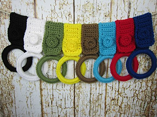 Kitchen Towel Holder, Pick Your Color, Handmade Kitchen Crochet Gift Item