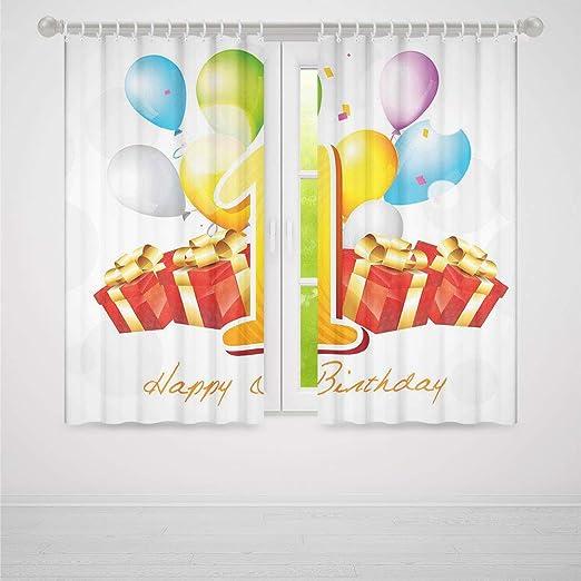 Cortinas Opacas para el Primer cumpleaños, decoración de ...