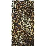 linomo Hand Towel Animal Leopard Print Towel Cotton Face Towel Dish Towel for Kids Girls Boys Adult