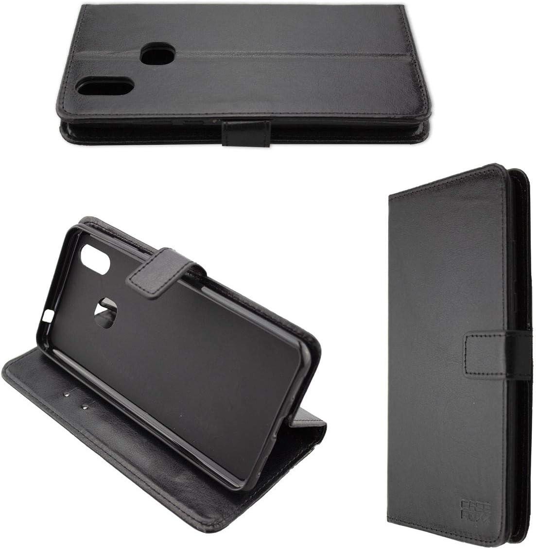 Casco para Cubot MAX 2, Bookstyle-Case Funda Protectora a Prueba de Golpes para Smartphone (Carcasa de Color Negro): Amazon.es: Electrónica