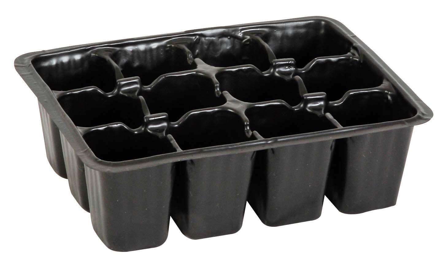Verdemax Semillero de pl/ástico 2287 con 12 Celdas de 18 x 13 x 5/cm 5 Piezas