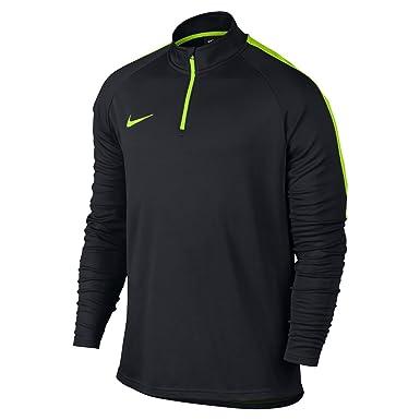 d96ae3236 Nike Dry Academy Men's Quarter-Zip Drill Top: Amazon.co.uk: Clothing