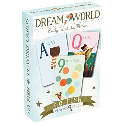 Dream World Go Fish Cards: Toys & Games