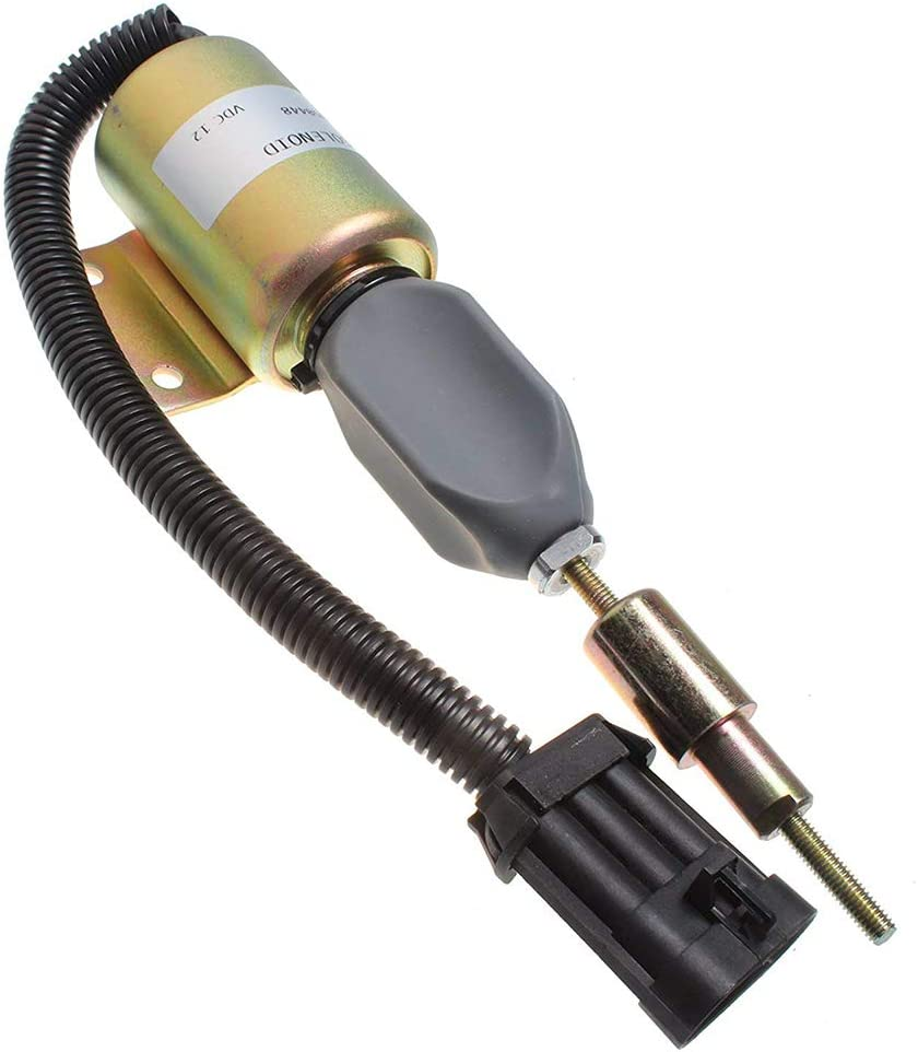 Mover Parts New Shut Off Solenoid Valve F3HZ-9A594-A SA-4273-12V For Ford 7.8 Diesel Engine