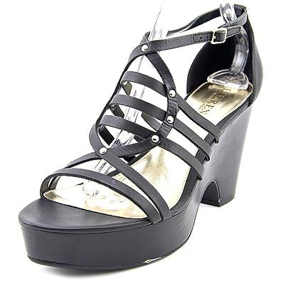 2689762f94b Lauren by Ralph Lauren Womens Raegan Leather Open Toe Special