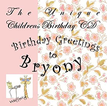 Happy Birthday Greetings To Bryony