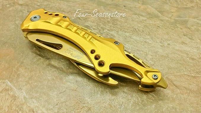 Amazon.com: MTech USA cuchillo táctico de acero ...