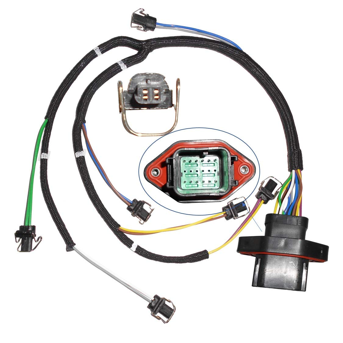 Greatwayer Fuel Injector Wiring Harness Assembly 222-5917 for CATERPILLAR CAT C7 Engine OE: 222-5917//2225917