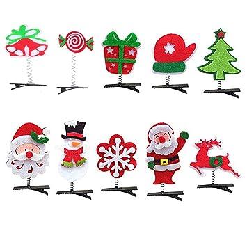 Clip Hair Clips Santa Claus Hairpin Baby Hairpins Cute Christmas Gift