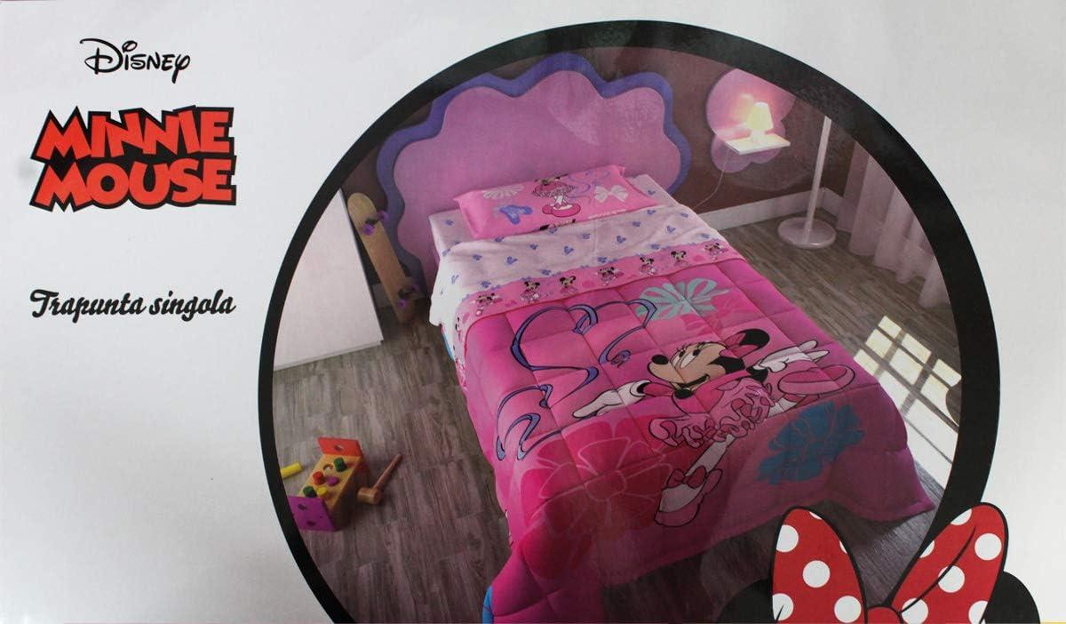 Trapunta Estiva Singola Disney.Russo Tessuti Trapunta Piumone Cotone Letto Singolo 1 Piazza Disney Minnie Ballerina Amazon It Casa E Cucina