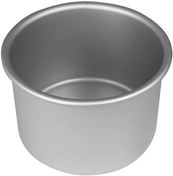 PME Molde para Pastel Redondo de Aluminio Anodizado Profundidad de 4 x 4-Pulgadas: Amazon.es: Hogar