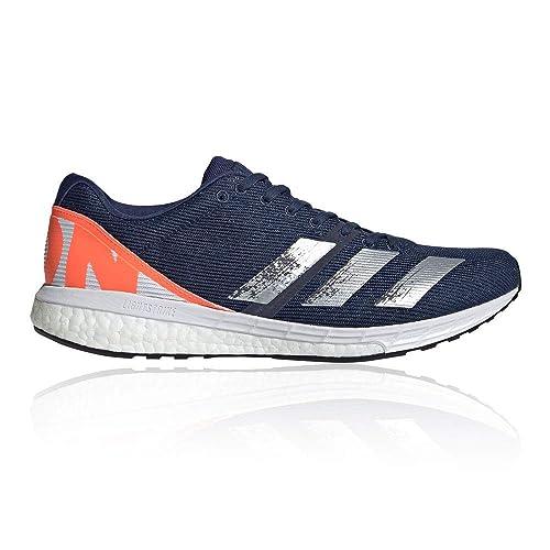 Adidas Boston Boost 8 Zapatillas de Carretera o de Atletismo Intermedio con Soporte Neutro para Hombre Azul Naranja: Amazon.es: Zapatos y complementos
