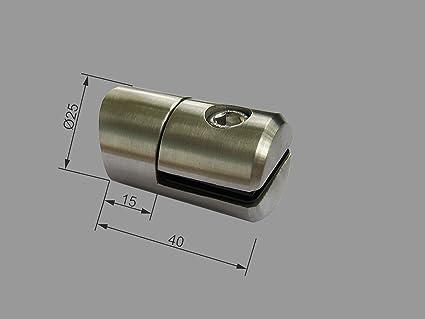 Pmc Chapa de acero inoxidable plana para tubos de 42,4 Ø25 ...