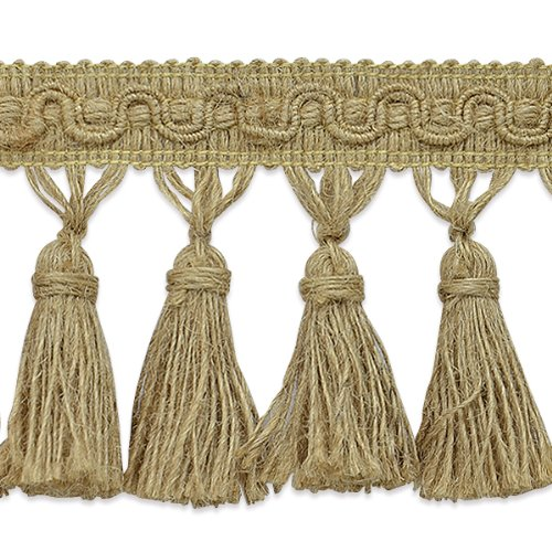 Expo International Fiber Tassel Fringe Trim, 10-Yard by Expo International Inc.
