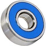 6001-2RS Ceramic Bearing 12x28x8 Stainless Steel Sealed ABEC-3 Ball Bearings VXB Brand