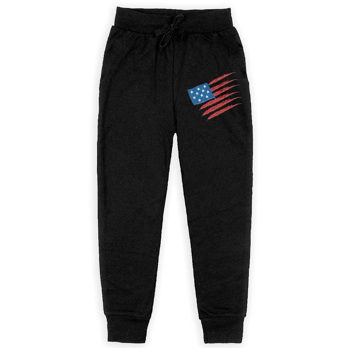 United-States Boys Athletic Smart Fleece Pant Youth Soft and Cozy Sweatpants